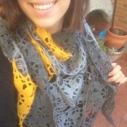 pico ganchillo o crochet floral